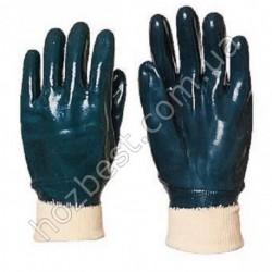 N-60 Перчатки нитрил синие масло
