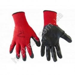 N-65 Перчатки покрытые нитрилом Вампирки стрейч