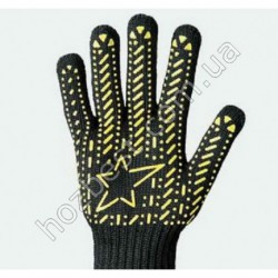 N-69 Перчатки с ПВХ точкой Звезда
