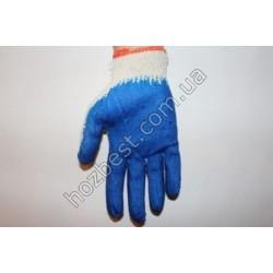 N-957 Перчатка ХБ с нитриловым покрытием (вампирка)
