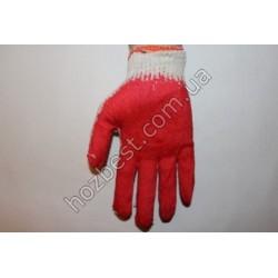 N-958 Перчатка ХБ с нитриловым покрытием (вампирка)