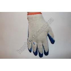 N-959 Перчатка ХБ с нитриловым покрытием (вампирка)