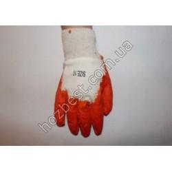N-976 Перчатка трикотажная облита нитрилом