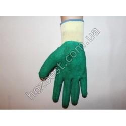 N-978 Перчатка вязанная залитая вспененым полиуретаном