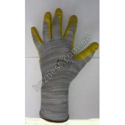 N- 1133 Перчатка стрейчевая облита нитрилом (плотная)