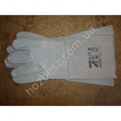N-1247 Перчатки сварочные 35см